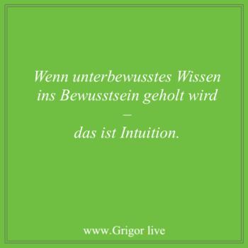 Unterbewusstsein Intuition