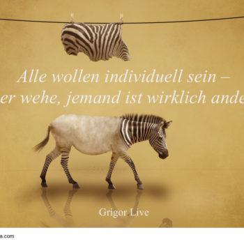 individuell, anders sein, glücklich, Individualität